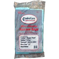 10 Nobles,Tennant and Blue Star Commercial Upright Vacuum Cleaner Allergy Bags, 611784, 900036, 612059, 86848360, Magna Twin 1600, 2200, 2600, , S-Vac,