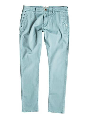 Quiksilver Krandy - Pantalones chinos para Hombre, Color: STONE BLUE, Talla: 32