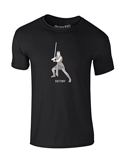 Brand88 Her Destiny, Kids T-Shirt - Black 12-13 Years