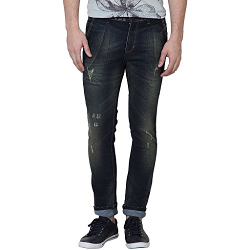 Super-X Blue Tint Rugged Men Jeans