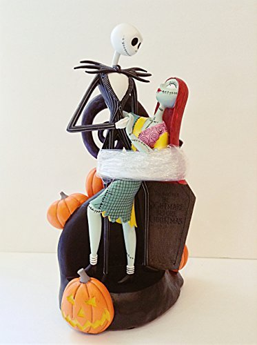 disney parks halloween jack and sally zero medium statue murphy new with box -