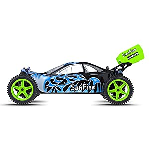 1/10 2.4Ghz Exceed RC Electric SunFire RTR Off Road Buggy Fire Black
