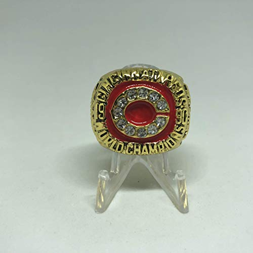 Eric Davis Cincinnati Reds High Quality Replica 1990 World Series Championship Ring Size 10.5-Gold Color US SHIPPING