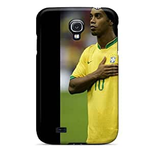Durable Protector Case Cover With The Football Player Of Atletico Mineiro Ronaldinho Hot Design For Galaxy S4