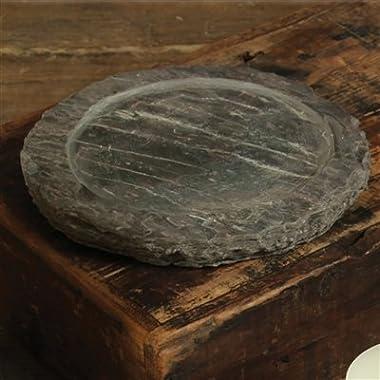 HomArt Slate Trivet, Candle Plate, Medium