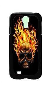 HeartCase Hard Case for Samsung Galaxy S4 Mini I9190 I9192 I9195 I9198 ( Sugar Skull )