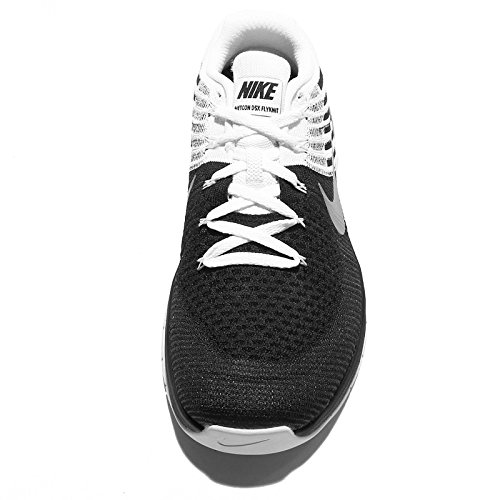 Nike Herren Metcon DSX Flyknit Trainingsschuh Deep Royal Blue / White-Racer Blau 10.5 D (M) US Schwarz / Weiß-metallic Silber