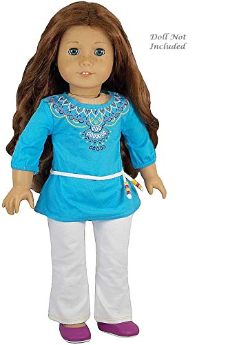 American Girl Saige - Saige's Tunic Outfit for Dolls - American Girl of 2013 by American Girl (Saige American Girl Doll)