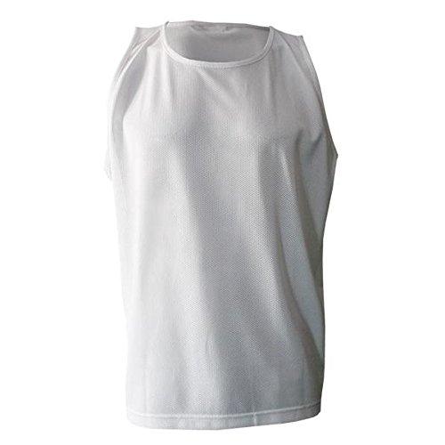 Softee Equipment 77015.002 Plastron, Homme, Blanc, S