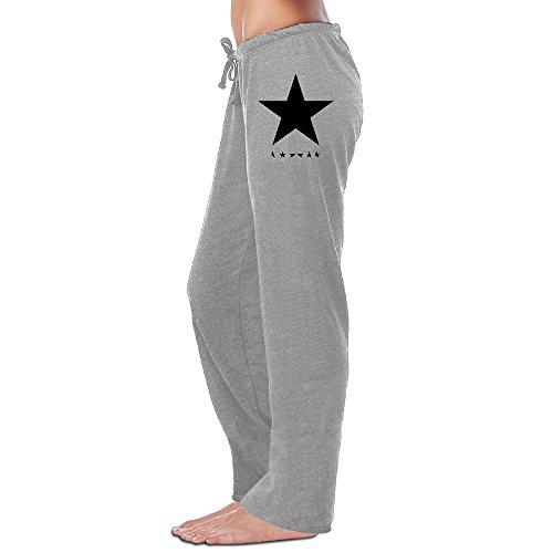 Price comparison product image Bro-Custom David Star Bowie Women's Sweatpants M Ash