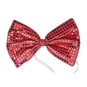 Navidad de alta calidad del regalo del Bowknot Diademas - Red