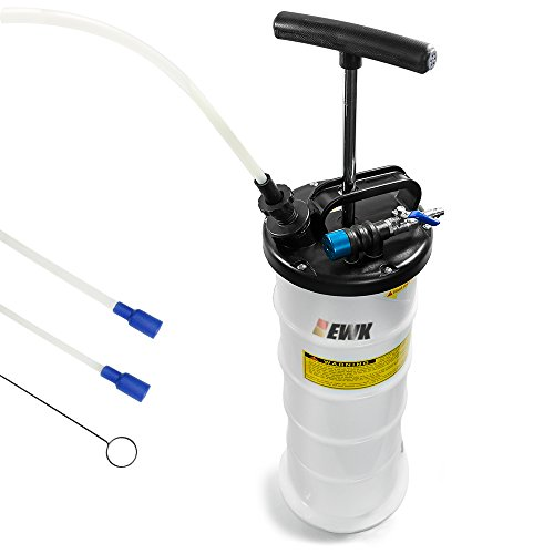 EWK Pneumatic/Manual 6.5 Liter Oil Changer Vacuum Fluid Extractor Pump Tank Remover