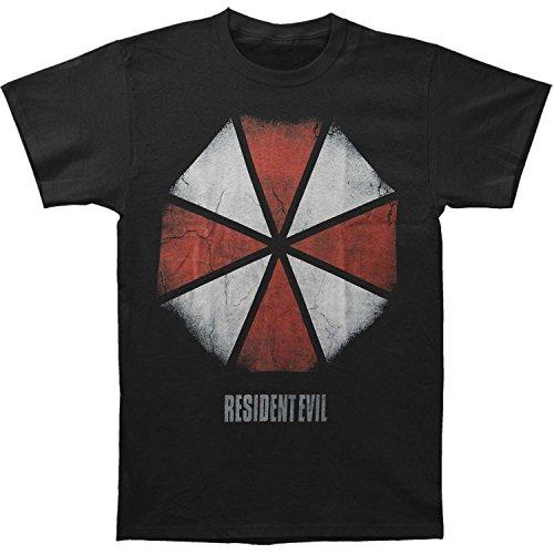 Resident Evil Men's Umbrella Slim Fit T-shirt XX-Large Black