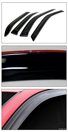 Topline Autopart Guard Deflector Window