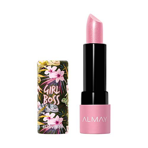 - Almay Lip Vibes, Girl Boss, 0.14 oz, cream lipstick