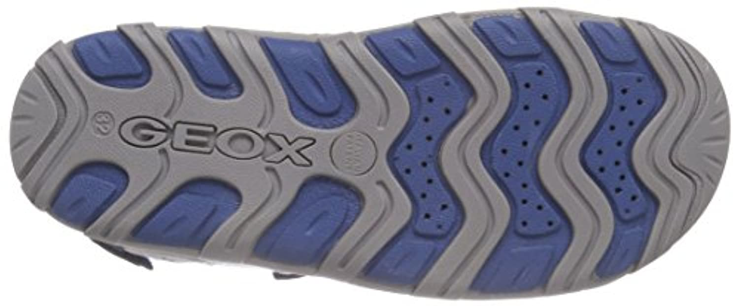 Geox Jr Pianeta, Boys' Open Toe Sandals, Blue (Navy/Avio), 1 UK (33 EU)