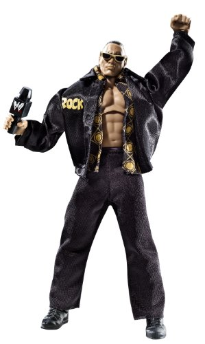 WWE Defining Moments The Rock - This is Your Life Collector Figure Series #2