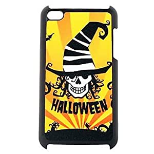 FJM Skull Wizard Pattern Plastic Hard Case for ipod touch 4