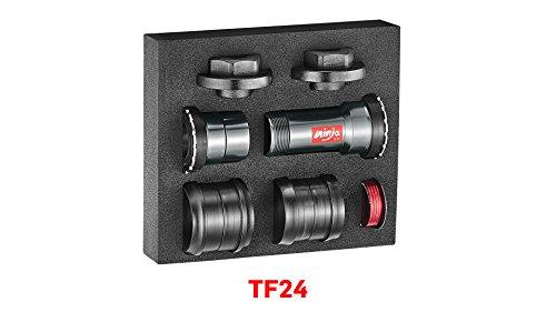 Token Products Press Fit BB86/BB92/BB30/PF30 Frame to 24mm Crankset (Press Bb92)