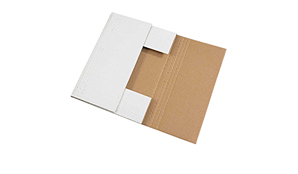 """26/""""x6/""""x2/"""" Corrugated Mailer 200 lb Test//ECT-32-B White Lot of 50"""