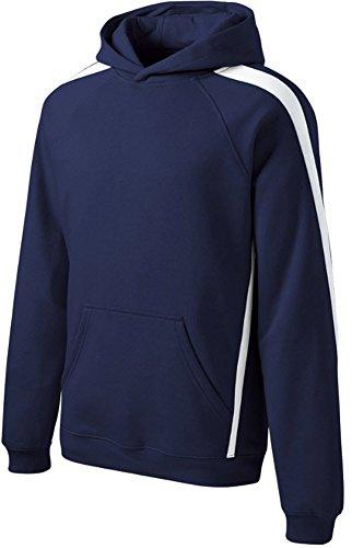 Lined Striped Sweatshirt - 5