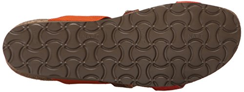 Gore Sandal Fabric Maple Orange Intrigue Wedge Naot Heel Women's Mid Gore Leather Brown Orange Black White wz7SXHOq