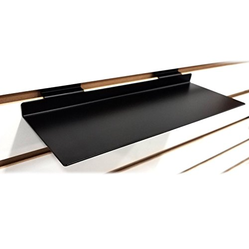 Slatwall Metal Shoe Shelf, Flat Display Shelves for Slat & Slatgrid Panels - 4