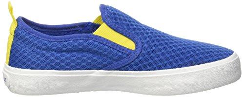 Geox Jr Kiwi Boy B - Zapatos Primeros Pasos Para Bebés Blu (Royal/Yellow)
