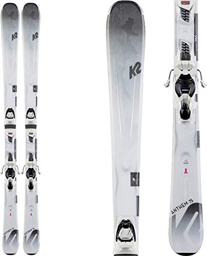 K2 Anthem 75 Womens Skis with ERP 10 Quikclik Bindings 2020-156cm