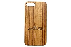 Apple iPhone 7 Plus & 8 Plus Zebrawood Wooden Phone Case NDZ - Choose Your Design