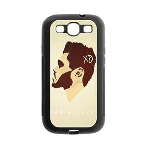 Fayruz- Protective Hard TPU Rubber Black Case Cover for Samsung Galaxy S3 S III I9300 - XO The Weeknd