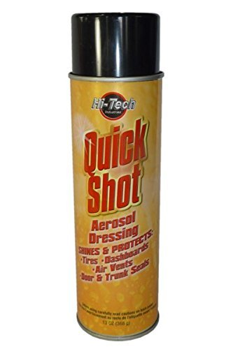 (HI-TECH Quick Shot Watermelon Scent Aerosol Dressing - Shines and Protects - 13oz (12))