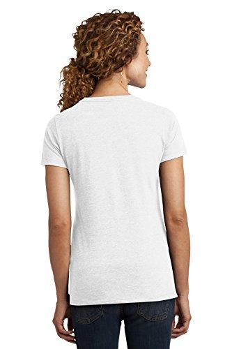 District Made Damen T-Shirt Gr. XXX-Large, weiß