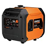 Generac 7127 iQ3500-3500 Watt Portable Inverter Generator Quieter Than Honda, Orange/Black For Sale