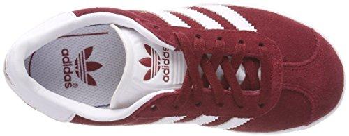 adidas Gazelle, Zapatillas Unisex Niños Rojo (Buruni / Ftwbla / Ftwbla 000)