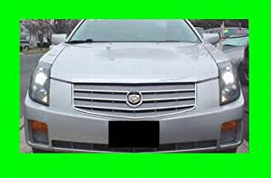 2003 2007 cadillac cts chrome grill grille kit. Black Bedroom Furniture Sets. Home Design Ideas