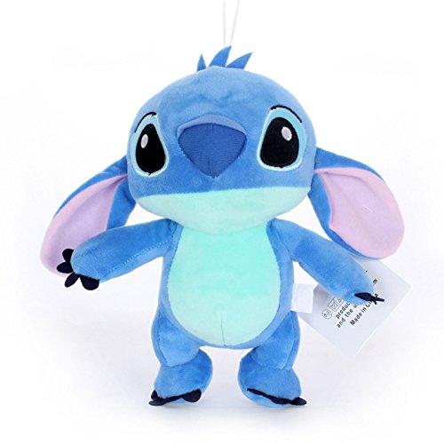 amazon com kawaii stitch plush doll toys anime lilo and stitch 20cm