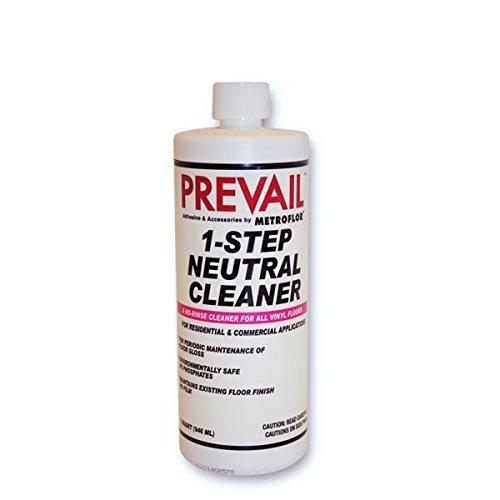 (Prevail Metroflor 1-Step Neutral Cleanr, Quart - 2)