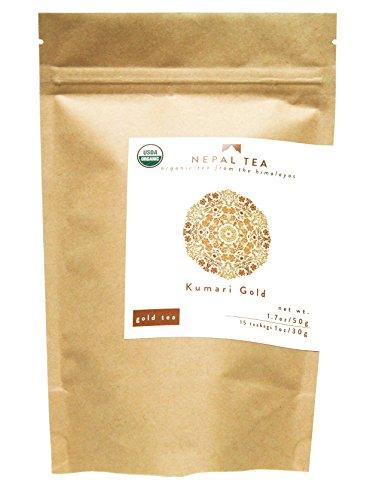 Nepal Tea - Kumari Gold Loose Leaf Tea, Certified Organic, 1.7 Oz. (Approx. 25 Cups)