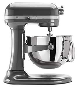 KitchenAid KP26M1XPM Professional 600 Series 6-Quart Bowl-Lift Stand Mixer, Pearl Metallic