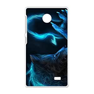Creaative Wolf Hot Seller High Quality Case Cove For NOKIA X