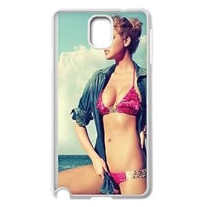 Samsung Galaxy Note 3 Cell Phone Case White ha40 kate upton swim suit sea girl face SU4298803