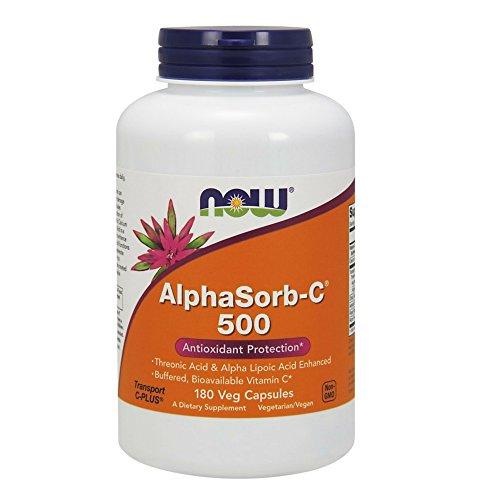 NOW AlphaSorb-C 500 mg,180 Capsules
