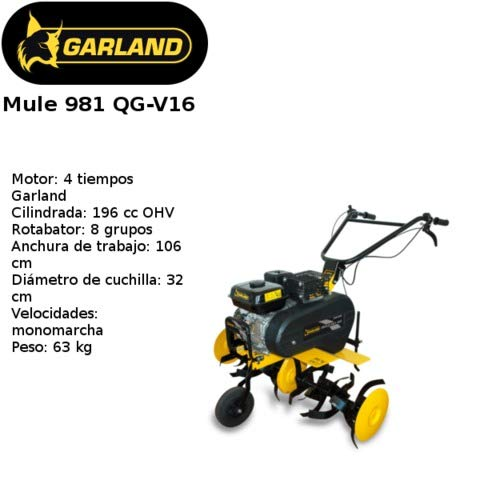 MOTOAZADA GARLAND MULE 981QG-V16