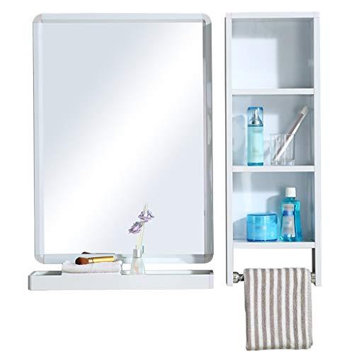 XAOPN Wall-Mounted Mirrors, Bathroom Mirror Wall Mounted Vanity Mirror Washbasin Mirror Wall Mounted (Size : 48cmX63cm)