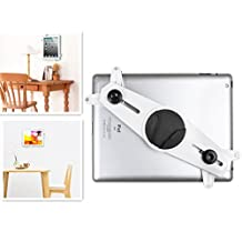 Adjustable 360 Degrees Rotation Aluminum Slid-In Tablet Wall Mount Holder For iPad mini/1/2/3/4/Air, Galaxy tablet - PrimeCables