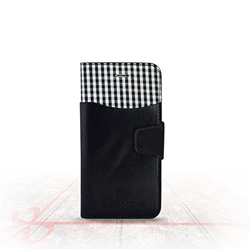 Exinoz EX2i6BLACK Genuine Leather Wallet Case – Black