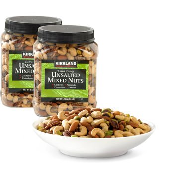 Kirkland Signature™ Extra Fancy Unsalted Mixed Nuts 2 - 2.5 lb Jar