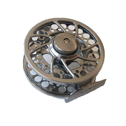 - 90mm Wheel Fly Fishing Fly Reel 3/4# 5/6# 7/8# 9/10# Manufactured Aluminum Micro Regulating Drag Trout Fishing Reel