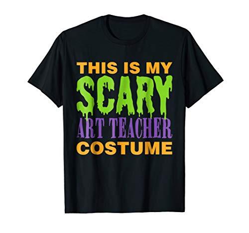 Art Teacher Scary Halloween Costume -